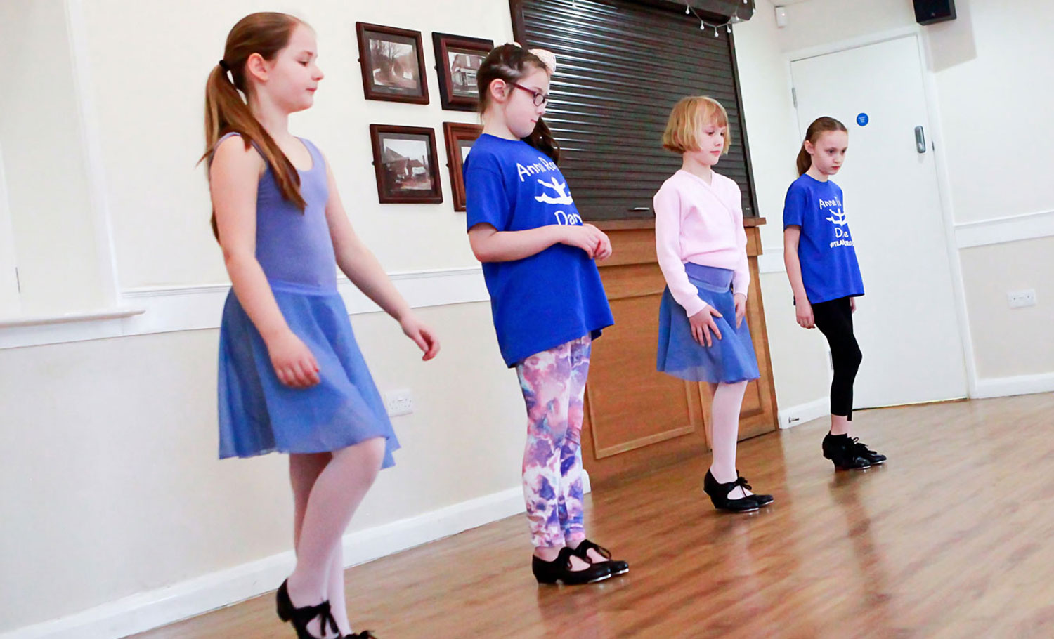 Anna Rose Dance Students
